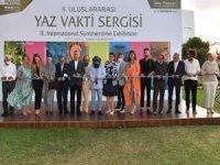 """Üsküdar'da """"2. Uluslararası Yaz Vakti Sergisi"""" Sanatseverlerle Buluştu"""