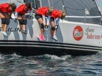 6.Deniz Kızı Kadın Yelken Kupası'nın Şampiyonu Eker Takımı Oldu