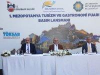 Diyarbakır turizm ve gastronomi fuarı öncesi Mezopotamya toprakları tanıtıldı