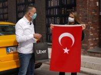 UberBayrak ile Cumhuriyet Bayramı kutlaması