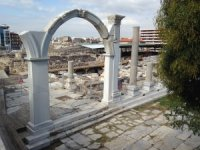 Smyrna Antik Kenti Güzel Enerji desteğiyle gün yüzüne çıkıyor
