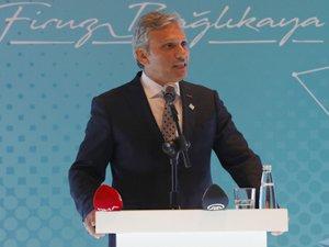 Firuz Bağlıkaya,  Antalya'da 750 seyahat acentası ile buluştu