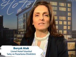 LIONEL HOTEL ISTANBUL Satış ve Pazarlama Direktörü BURÇAK ATAK