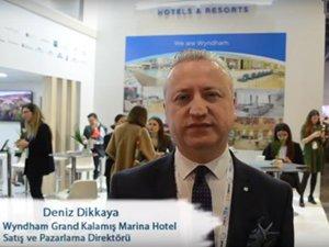 Wyndham Grand İstanbul Kalamış Marina Hotel Satış ve Pazarlama Direktörü Deniz Dikkaya...