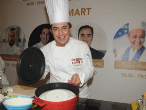 """Şef Fikret Özdemir """"Sıfır Atık Yemek"""" projesine destek verdi"""