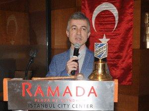 İRO Başkanı Dr. Sedat Bornovalı Skal İstanbul'da