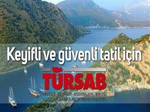 """TÜRSAB'dan Tüketiciye """"Güvenli Tatil"""" Filmi"""